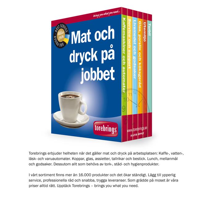 Mat och dryck på Jobbet - Torebrings Grossist AB