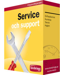 Service och support - Torebrings - Driftsäkerhet och trygghet