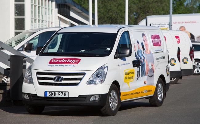Torebrings servicebilar 2012