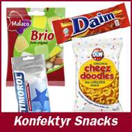 Konfektyr & Snacks