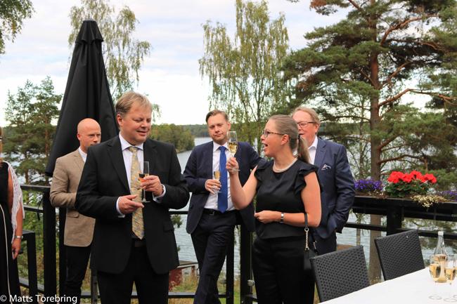 Välkomstdrink Torebrings 40 års jublieum