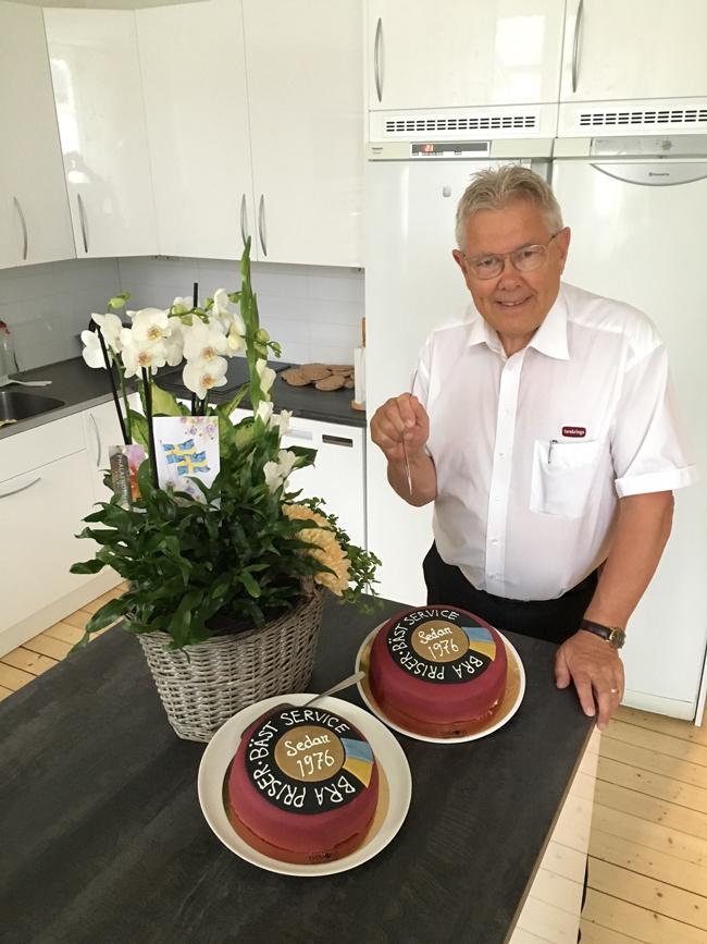 Matts 40 års tårta Bra Priser Bäst service sedan 1976