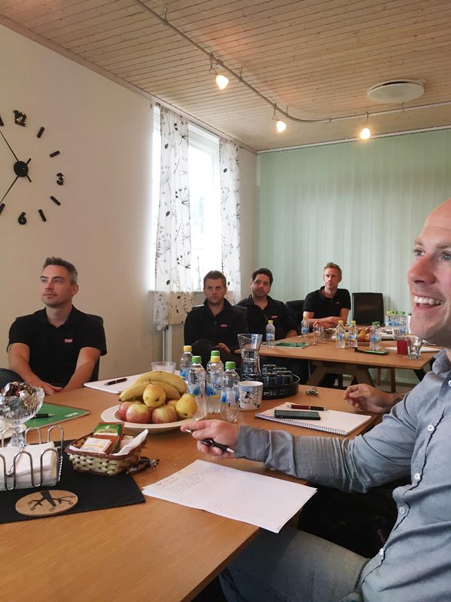 Servicetekniker - säljare - rätt i kopper - utbildning Svenska Vendingföreningen