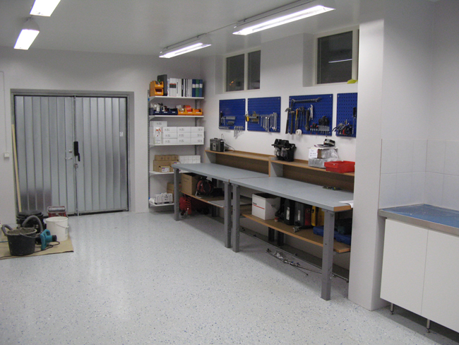Torebrings servicerum för kaffeautomater varuautomater