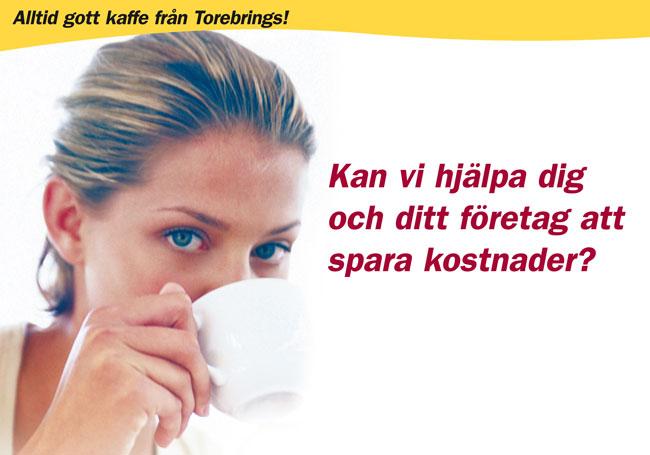Prova kaffemaskin kaffeautomat utan kostnad från Torebrings